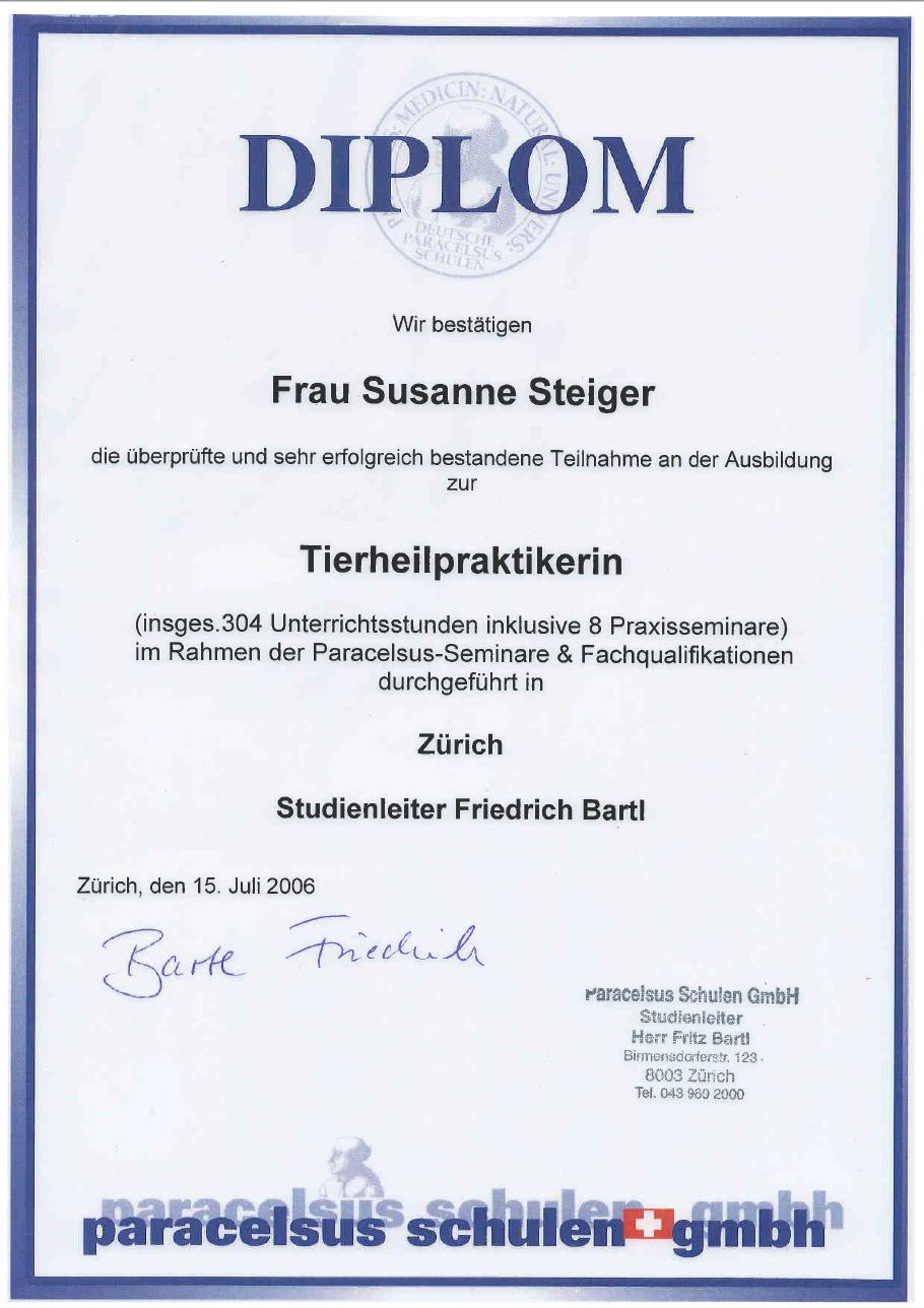 Ueber Mich Susanne Steiger Ausbildung Und Werdegang